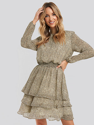 Sisters Point Nicoline-LS4 Dress brun beige