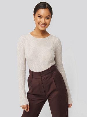 Mango Godo Sweater beige