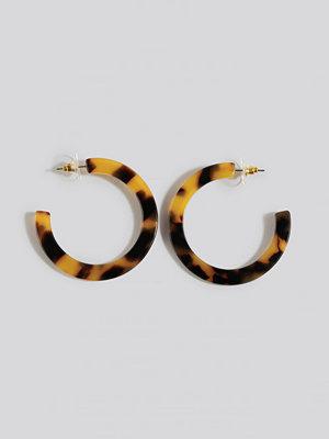 Mango smycke Camilla Earrings brun