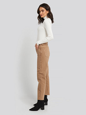 Mango Mariona Jeans brun