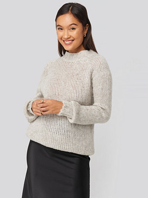 Trendyol Bike Collar Knitted Sweater grå
