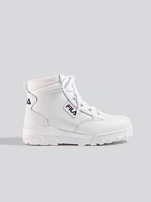 Sneakers & streetskor - Fila Grunge L Mid Wmn Boot vit