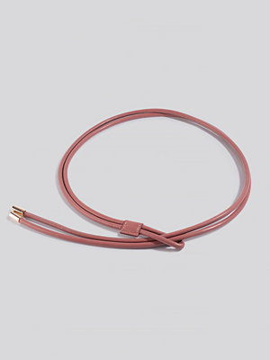 Bälten & skärp - NA-KD Accessories Rope Loop Belt rosa