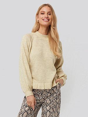 Tröjor - Mango Mercucio Sweater beige