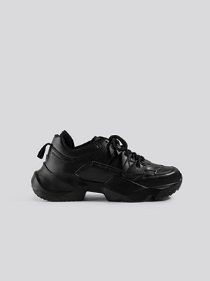Danny Saucedo x NA-KD Chunky Sneaker svart