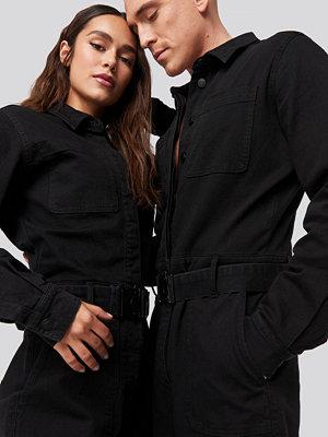 Danny Saucedo x NA-KD Boiler Suit svart