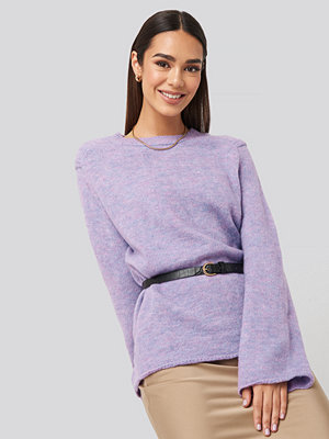 Trendyol Crew Neck Knitted Sweater lila