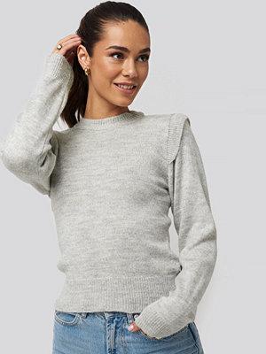 Tröjor - Trendyol Padded Sweater grå