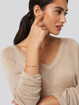 Dilara x NA-KD smycke Moon Bracelet guld