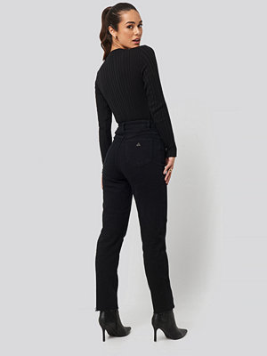 Abrand A 94 High Slim Jeans svart