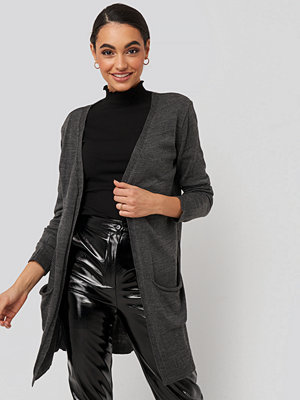 Trendyol Pocket Detailed Cardigan grå