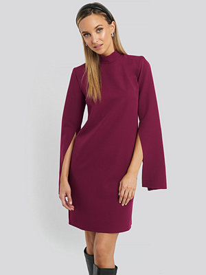 Trendyol Cape Sleeve Mini Dress lila