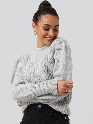 Mango Mariposa Sweater grå