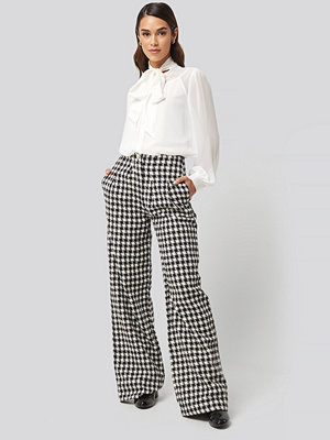 Trendyol rutiga byxor Wide Leg Pants multicolor