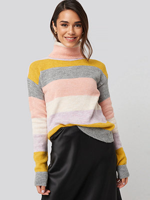 Trendyol High Neck Striped Knitted Sweater multicolor