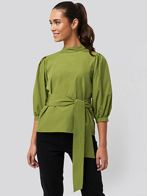 Trendyol Binding Detailed Blouse grön