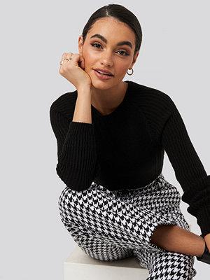 Tröjor - Trendyol Crew Neck Basic Knitted Sweater svart