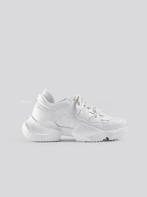 Sneakers & streetskor - Danny Saucedo x NA-KD Chunky Sneaker vit