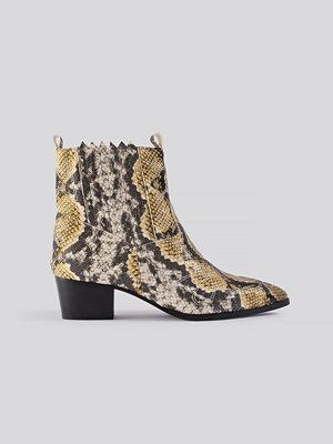 NA-KD Shoes Low Western Boots multicolor