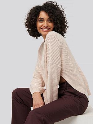 Trendyol Bike Collar Slit Sweater rosa