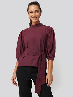 Trendyol Binding Detailed Blouse röd