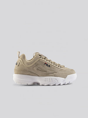 Sneakers & streetskor - Fila Disruptor S Low Wmn Sneaker beige