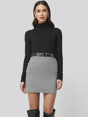 Nicci Hernestig x NA-KD Checked Skirt multicolor