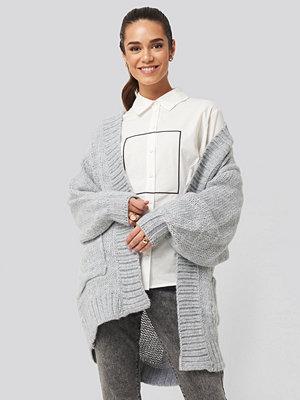 Trendyol Pocket Detailed Cardigan grå