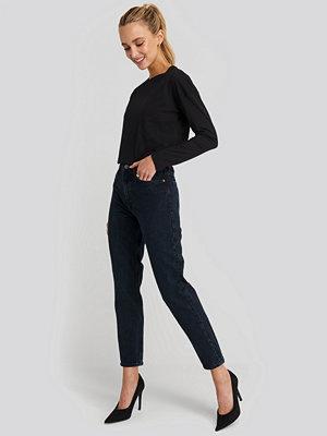Mango MOM80 Jeans blå