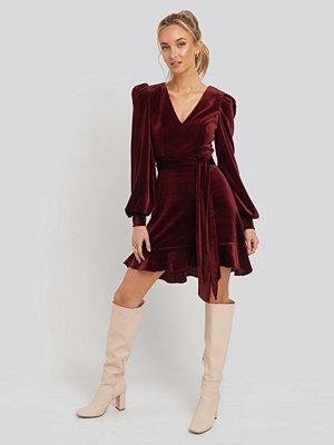 Trendyol Flywheel Dress röd