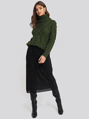 Mango Vices Skirt svart