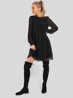 Trendyol Sheer Dress svart
