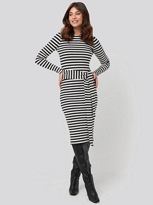 NA-KD Striped Jersey Dress multicolor