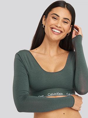 Calvin Klein L/S Bralette grön