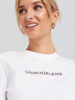Calvin Klein Shrunken Institutional Logo Tee vit