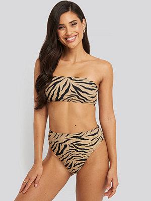 NA-KD Swimwear Maxi High Waist Bikini Panty multicolor