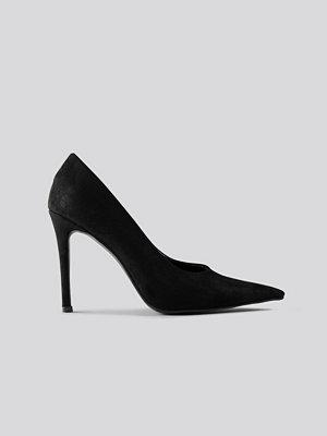 NA-KD Shoes Extreme Pointy Stiletto Pumps svart