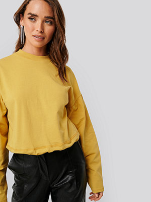 NA-KD Contour Seam Deatil Sweater gul