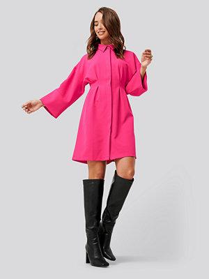 NA-KD A-Line Shirt Dress rosa