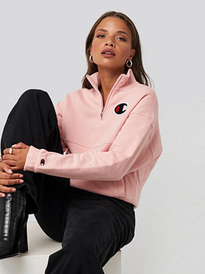 Champion Half Zip Sweatshirt rosa
