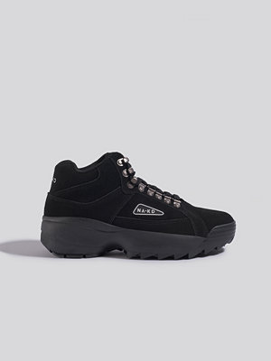 NA-KD Shoes Low Trekking Trainers svart