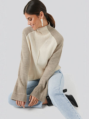 NA-KD Trend Wool Blend Colour Block Sweater multicolor