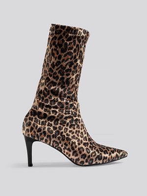 Pumps & klackskor - Trendyol Leopard Patterned Boots multicolor