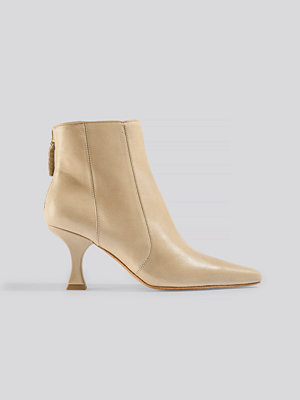 Mango Waves Ankle Boots brun