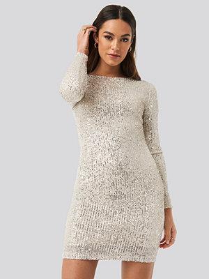 Mango Lanjuela Dress silver