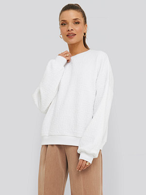 NA-KD Structured High Neck Sweater vit