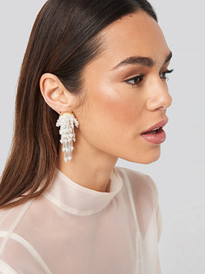 NA-KD Accessories smycke Sparkling Firework Beaded Earrings silver