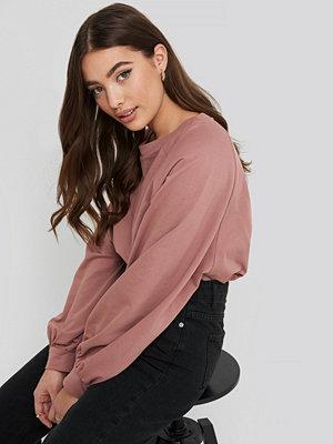 NA-KD Oversized Raglan Sleeve Sweater rosa