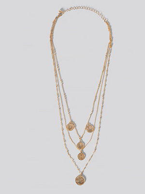 Mango smycke Claire Necklace guld
