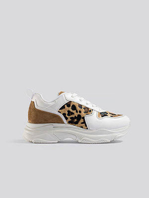 NA-KD Shoes Leopard Detailed Chunky Trainers multicolor
